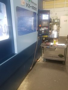 Photo of VX-1000 in shop